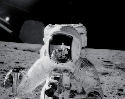 Alan Bean on Moon Apollo 12