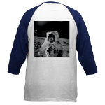 Bean and Conrad on Moon Baseball Jersey