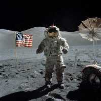 Click for the Last Moon Walk Apollo 17 Astrononmy & Space Gift Shop