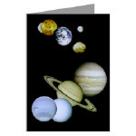 Our Solar System Greeting Cards (Pkg 6)
